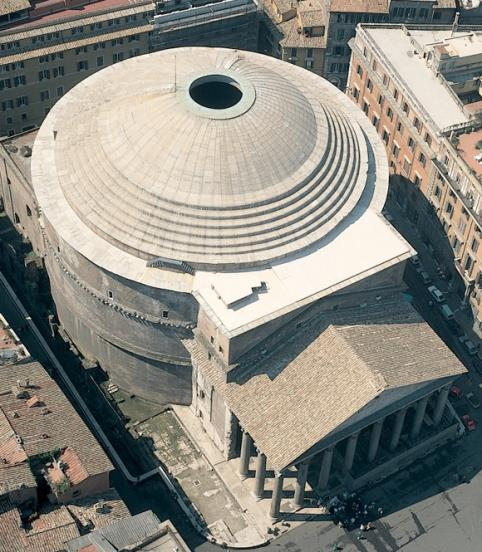 Pantheon, Rome. 125-128 CE HIGH EMPIRE With the new Emperor Hadrian in power, work on a new temple dedicated to all the gods began. This temple became known as the Pantheon.