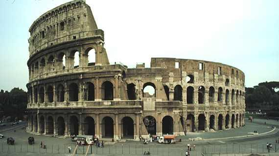 Early Roman Empire Colosseum, 72-80 CE.