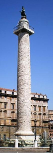 TRAJAN S COLUMN Celebration of Victory against the Dacians Rome, 113 CE HIGH