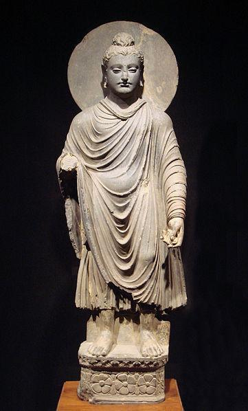 One of the earliest statues of