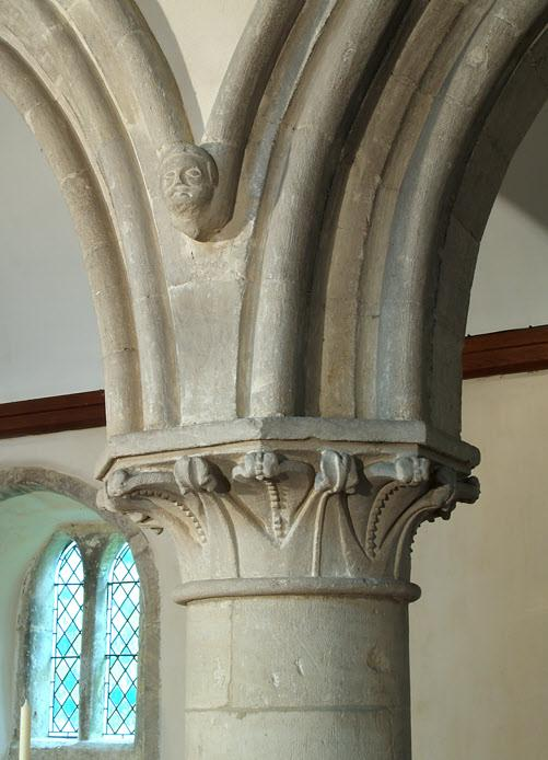 spandrels (below), and those at the centre, the apex, on top of the