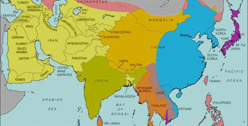 Indian Geography 1 The North: Aryan culture; the South: