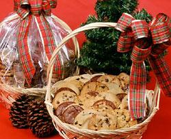 Christmas Cookie Basket Fund Raiser Sponsored by and benefits the many philanthropic projects of Sts.