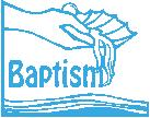 child baptized is Tuesday, January