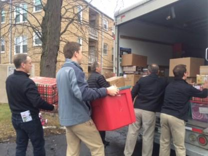 Many thanks to those volunteers who helped with Christmas Drop-off last weekend, including Matthew Compton, Connor Ewing, David Burden, Patty Sanfilippo, Mary Doug Brown,