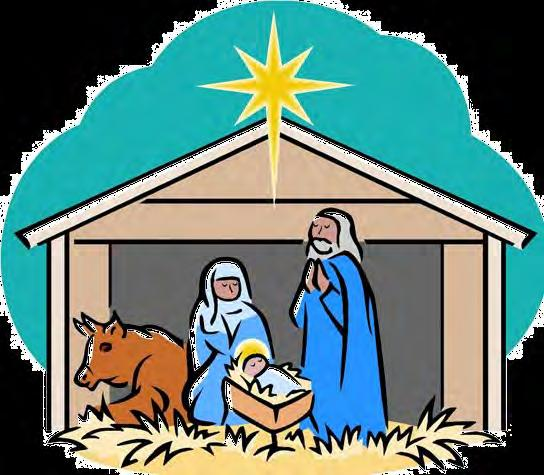 Please join us for our Christmas Family Mass On Saturday, December 8 th at