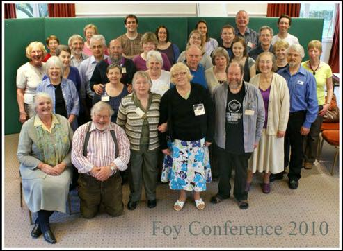 More from our Last Conference Forty years on and it was great to be back! Annette Percy I joined Foy in 1963 and was firmly attached to the then Manchester Branch for the next couple of years.
