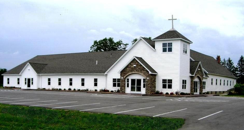 The church with fellowship hall and sanctuary as it is today. continued from page 5: The project was completed in June of 2008.