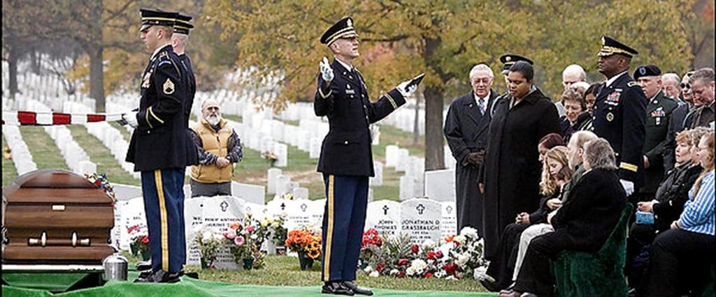 HONORING THE DEAD Memorial Ceremony Command s responsibility; patriotic in nature, attendance may or may not be mandatory Memorial Service