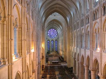 Laon Cathedral is known