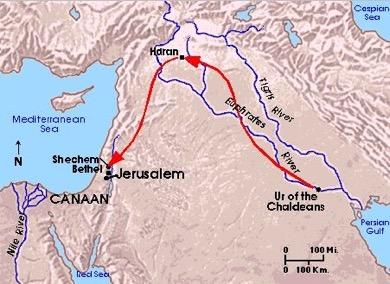 Tracing Roots of Israel s History Nomadic tribes wandered into Palestine from east in approximately 1900
