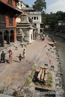 Practices Hindus believe the Ganges River is a sacred site.