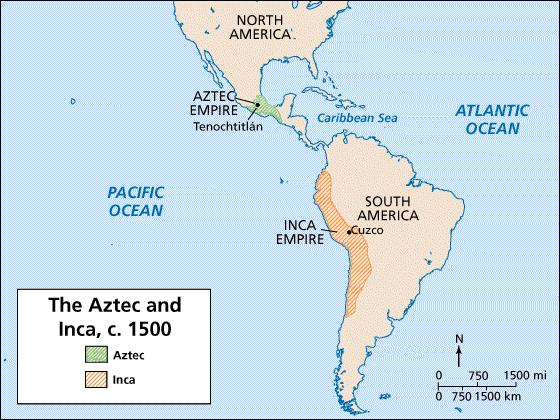 Empires of the Americas Empire-building reached an unprecedented scale Political styles of Aztec & Inca profoundly different However both