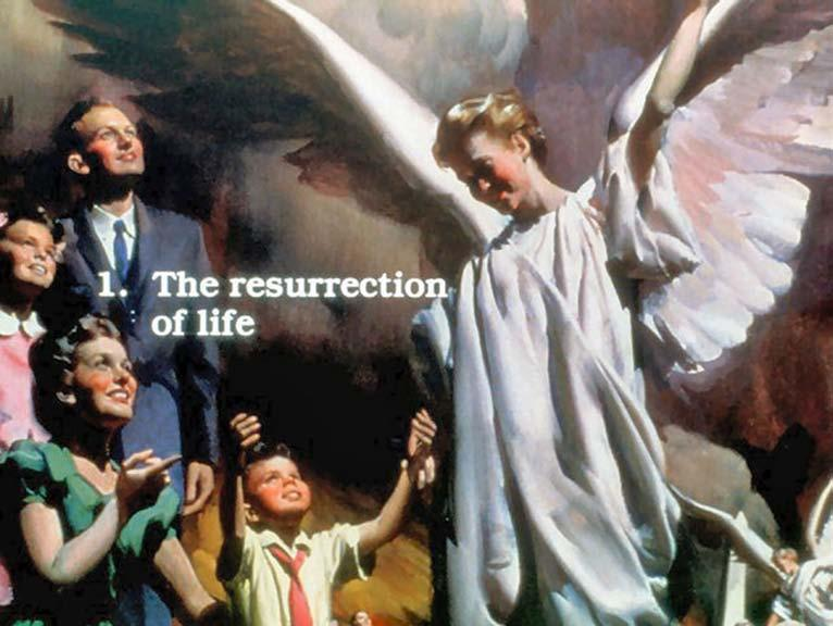 2. Righteous dead resurrected (the first resurrection).