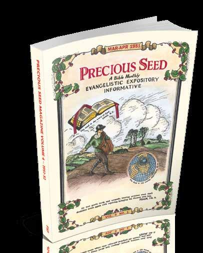 OFFERS FROM PRECIOUS SEED Whilst originally published as a series of articles in the Precious Seed magazine, this book expands upon the truths developed there.