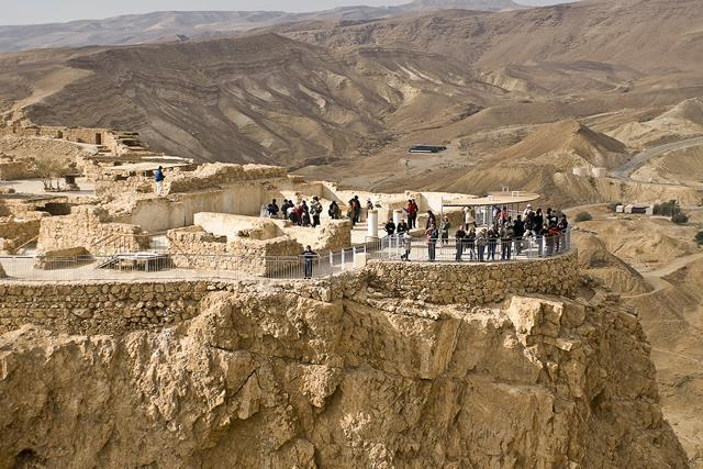 We begin our day at Masada, Herod the Great s magnificent fortress palace in the desert, and the last stand of the Zealots, a Jewish revolutionary group at the time of Jesus.
