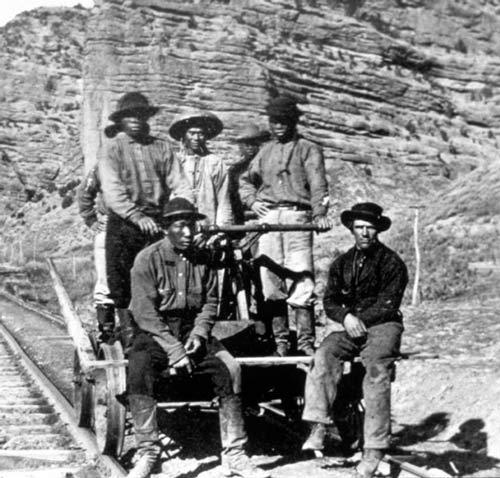 As cities grew the Federal Government encouraged railroad building in the West. During the Civil War, Congress loaned money to the railroad companies.