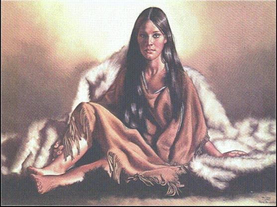 he Roles of Plains Indian Women and Men The woman s artistic ability established their rank in society.