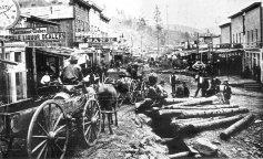 How did mining and railroading draw people into the West? gold 1.