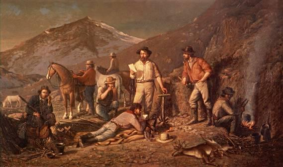 In 1859, two young prospectors struck gold in the Sierra Nevada lands. Henry Comstock discovered a vein of gold called a lode. The Comstock Lode attracted thousands of prospectors.