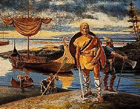 Vikings were the first Europeans to visit North America.