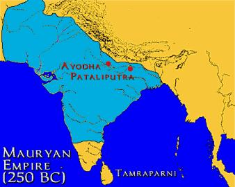 Founding of the Mauryan Dynasty Founded by Chandragupta