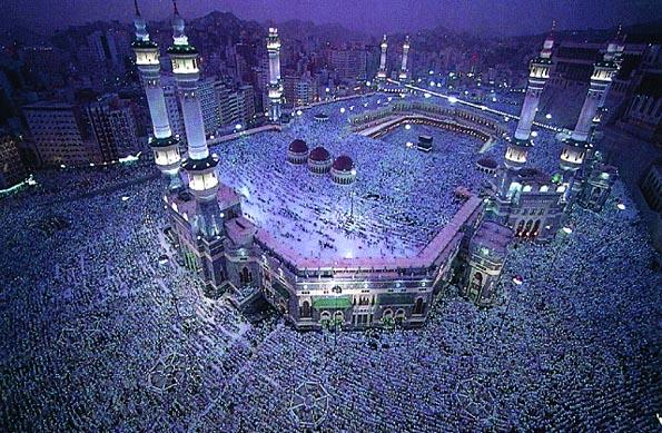 The Great Mosque in Mecca