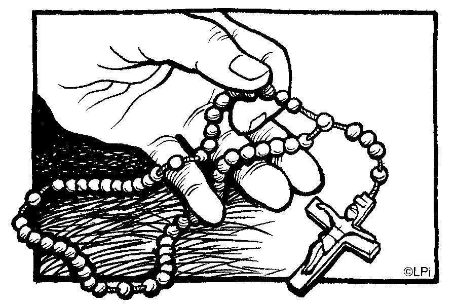 The mission of this ministry is to provide rosary beads, free of charge to any facility, institution or Church ministry that requests a need or has an interest to distribute rosary beads for the