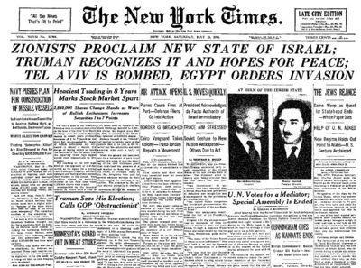 Palestine and the Mideast Crisis Israel was founded as a Jewish