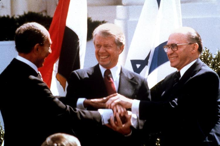 Palestine and the Mideast Crisis (cont.) In 1978 U.S.