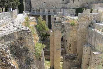 February 15-24, 2019 I T I N E R A R Y Return to the Old City of Jerusalem to visit the Pool of Bethesda where Jesus cured the paralytic. Beside it is the Church of St.
