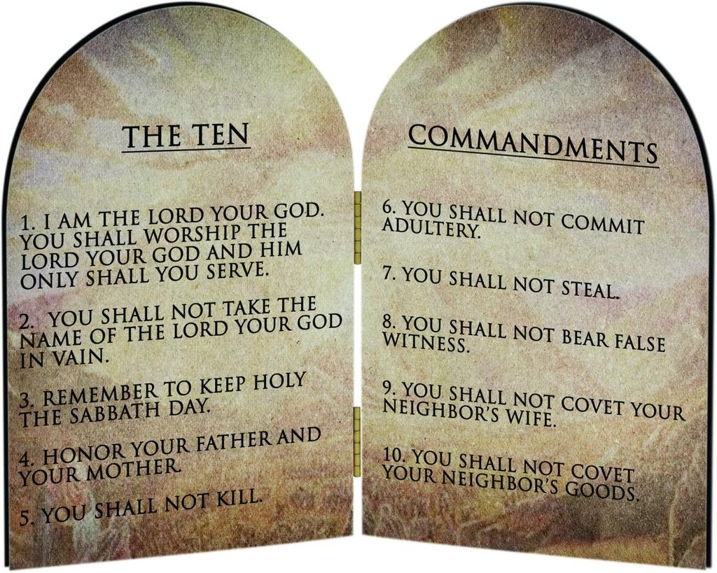 Ten Commandments Definition- A set of laws for the hebrews.