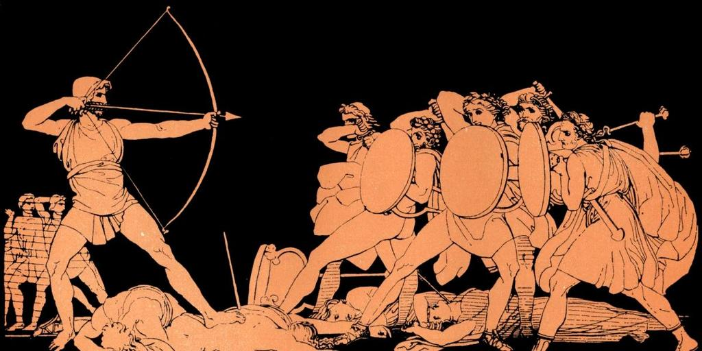 Term: The Iliad and The Odyssey Definition: The epics Homer wrote talking