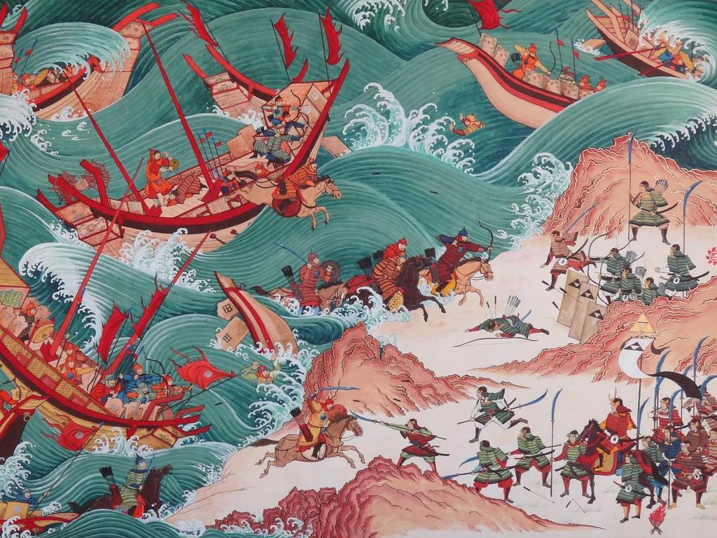 Mongol rule alienated many Chinese and a series of failures trigger the dynastic cycle and