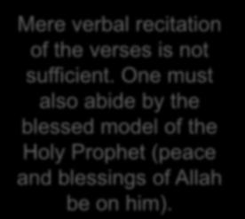 Huzur (aba) explained the Hadith Hadith recommends recitation of both the beginning and ending ten verses of Surah Al Kahf as protection against Dajjal The evil of Dajjal is the evil of rejection of