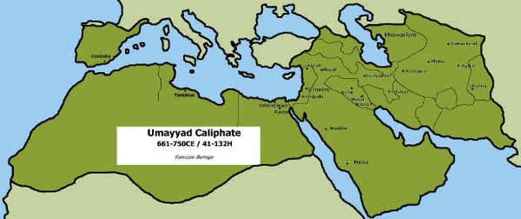 Umayyad Dynasty (661-750) From Damascus