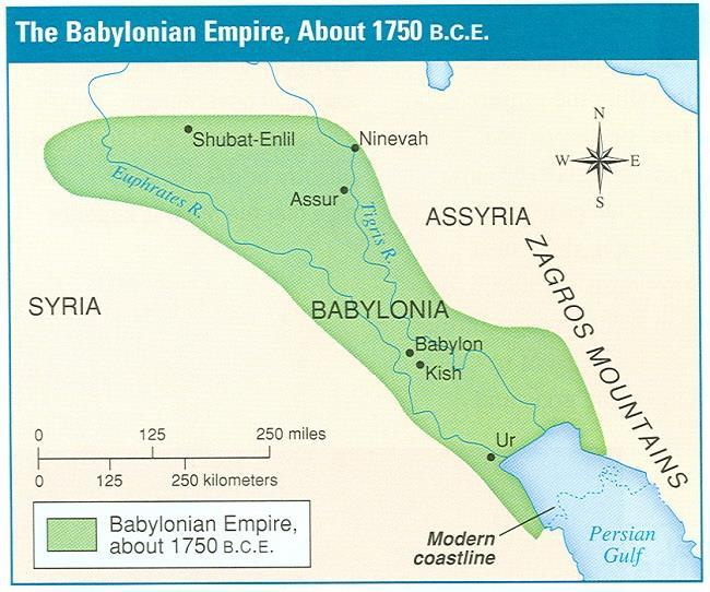 Conquered the region around 2000 B.C.