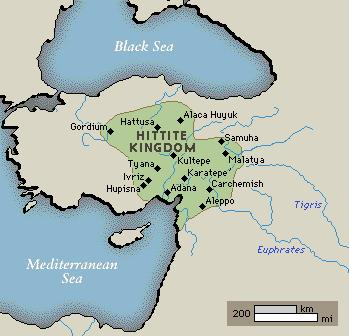 Hittites Assyrians In modern day Turkey and