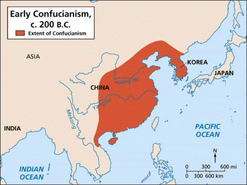 What role did Mencius play in the early days of Confucianism?