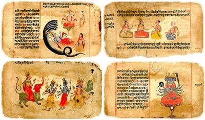Hinduism No central sacred text but