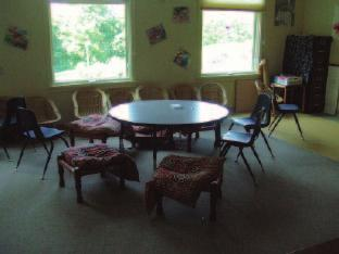 22 Picture 15 A conference room for children with small chairs for