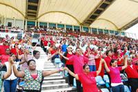 The Catholic Church in Trinidad and Tobago celebrated the 50th anniversary of the nation at the Ato Boldon Stadium in Couva on August 19.