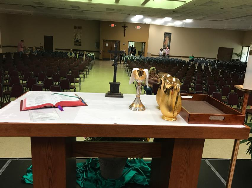 You will not return to you seat on the altar until after communion when Father takes the left over Body of Christ in the ciboria to the tabernacle behind where the servers sit on the floor.