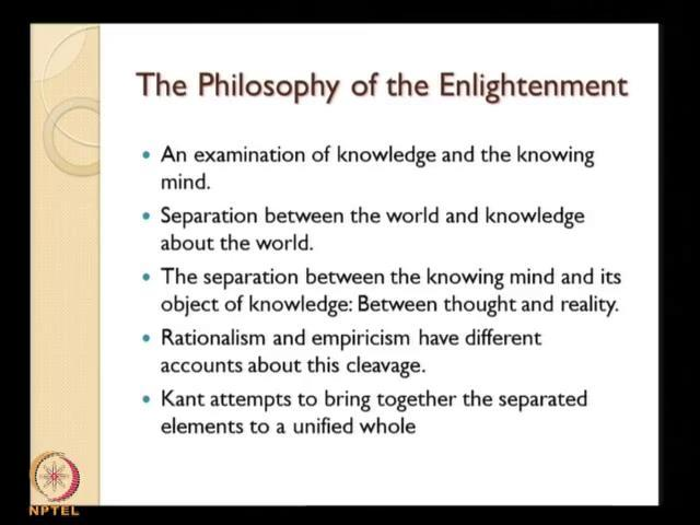 (Refer Slide Time: 25:56) So, he was trying to collect these different aspects, different truths that is present in different philosophers and bring them together reconcile them and present them more