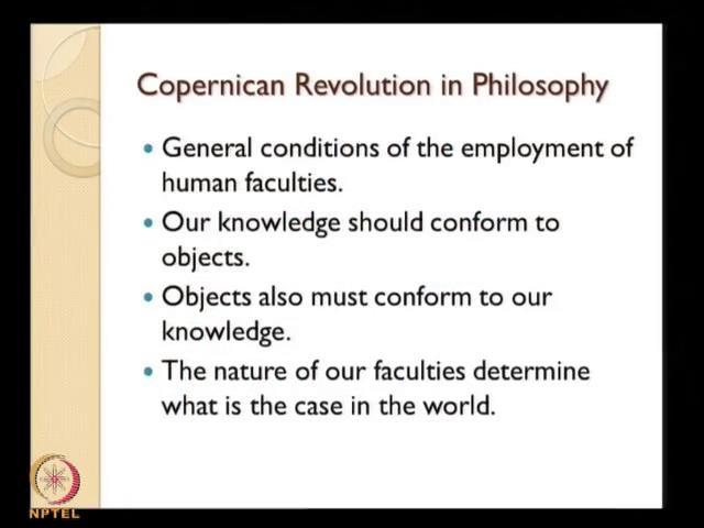 (Refer Slide Time: 52:01) We will conclude here, this is the Copernican revolution because Copernicus places his Copernican interpretation of the universe, makes the sun at the center.