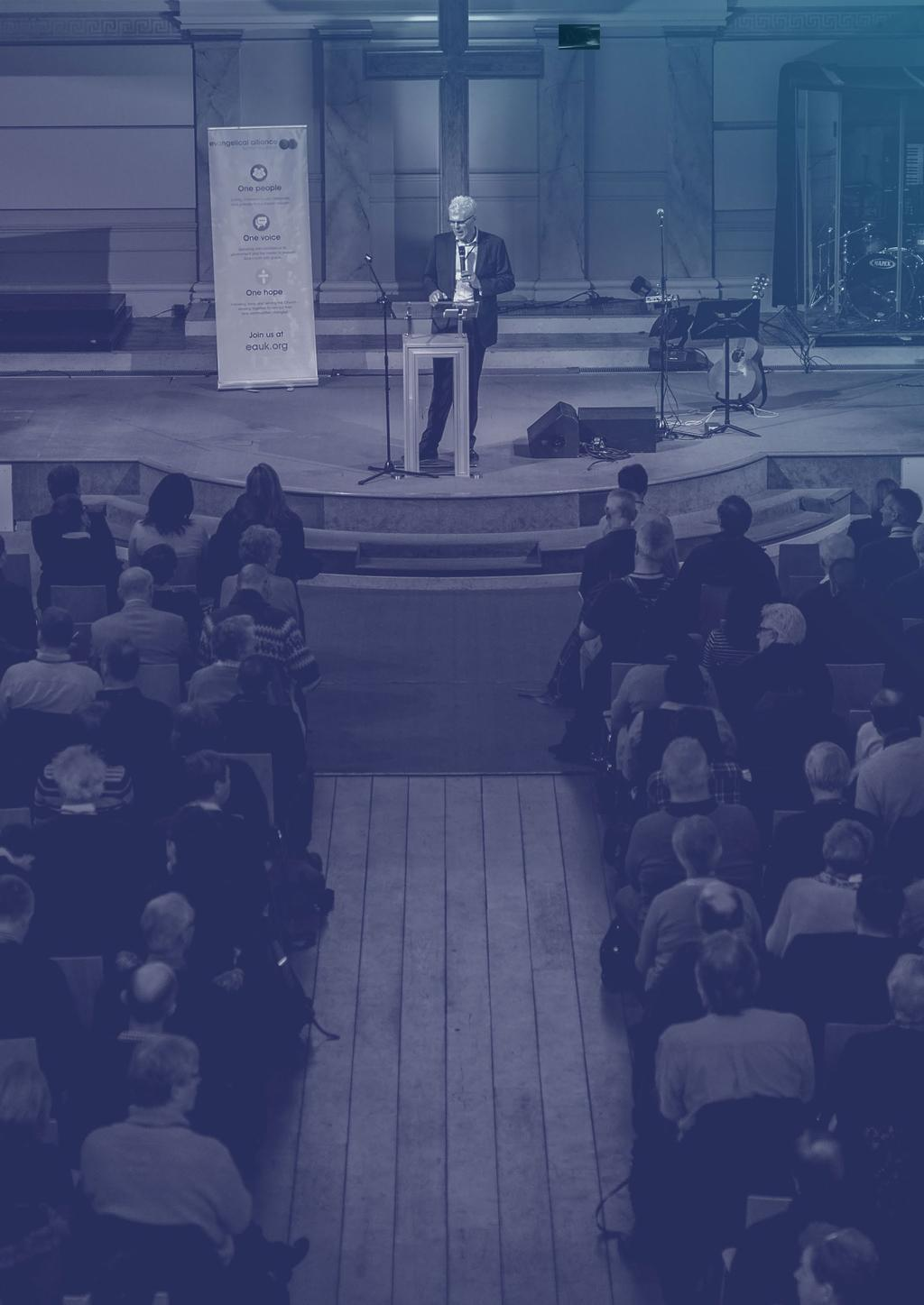 About the Evangelical Alliance The Evangelical Alliance joins together hundreds of organisations, thousands of churches and tens of thousands of individuals for the sake of the gospel.
