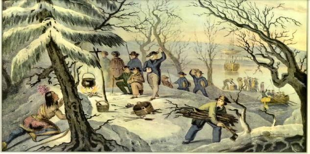 Plymouth Colony, 1620 Land grant acquired from Virginia Colony for religious separatists Storms blew them off-course Early harsh winter and disease killed many of