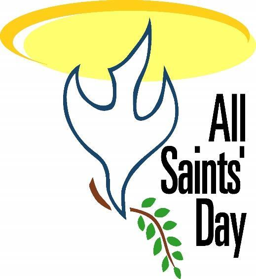 November 6: On November 6 th, we will have our annual All Saints Day Service.