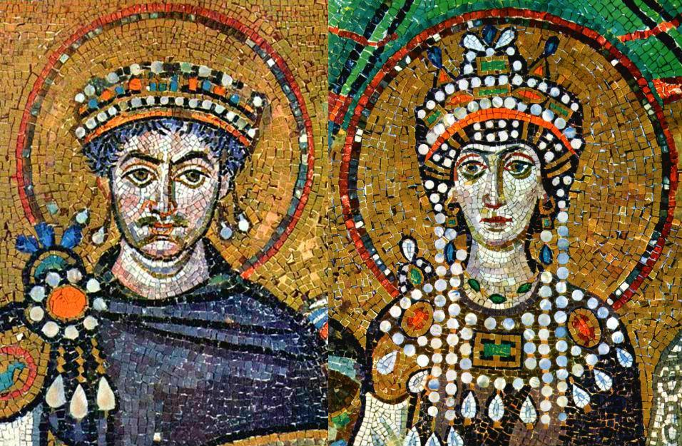 The Byzantine Empire Justianian s wife, Theodora, was very influential as well Born to a circus family Law had changed in order for Justinian to marry below his status She met with foreign