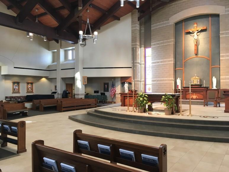 4pm Sun. 8am, 10am, and 5pm Weekday Masses: Mon.-Fri.